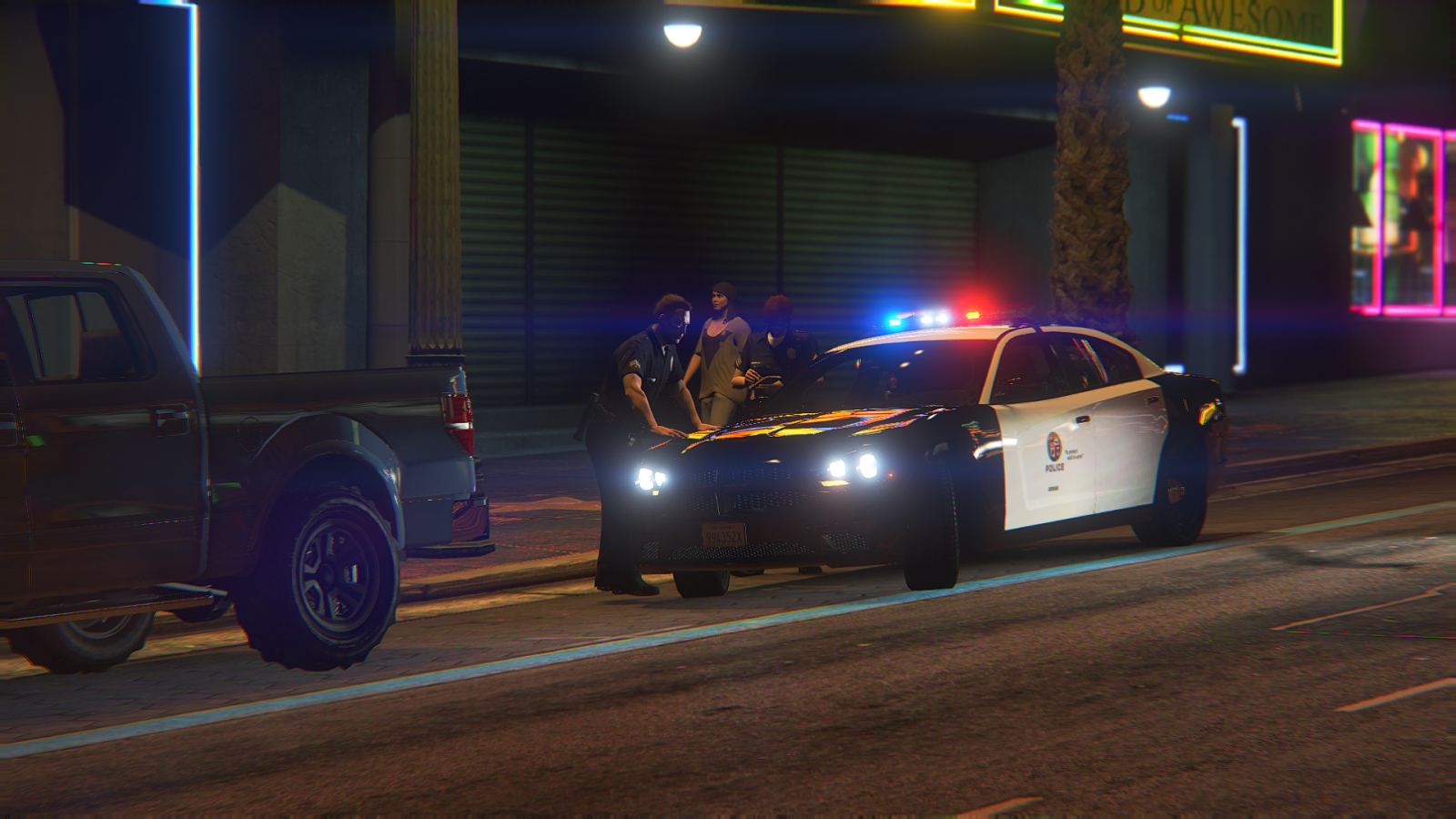 LSPD vehicle for infraction