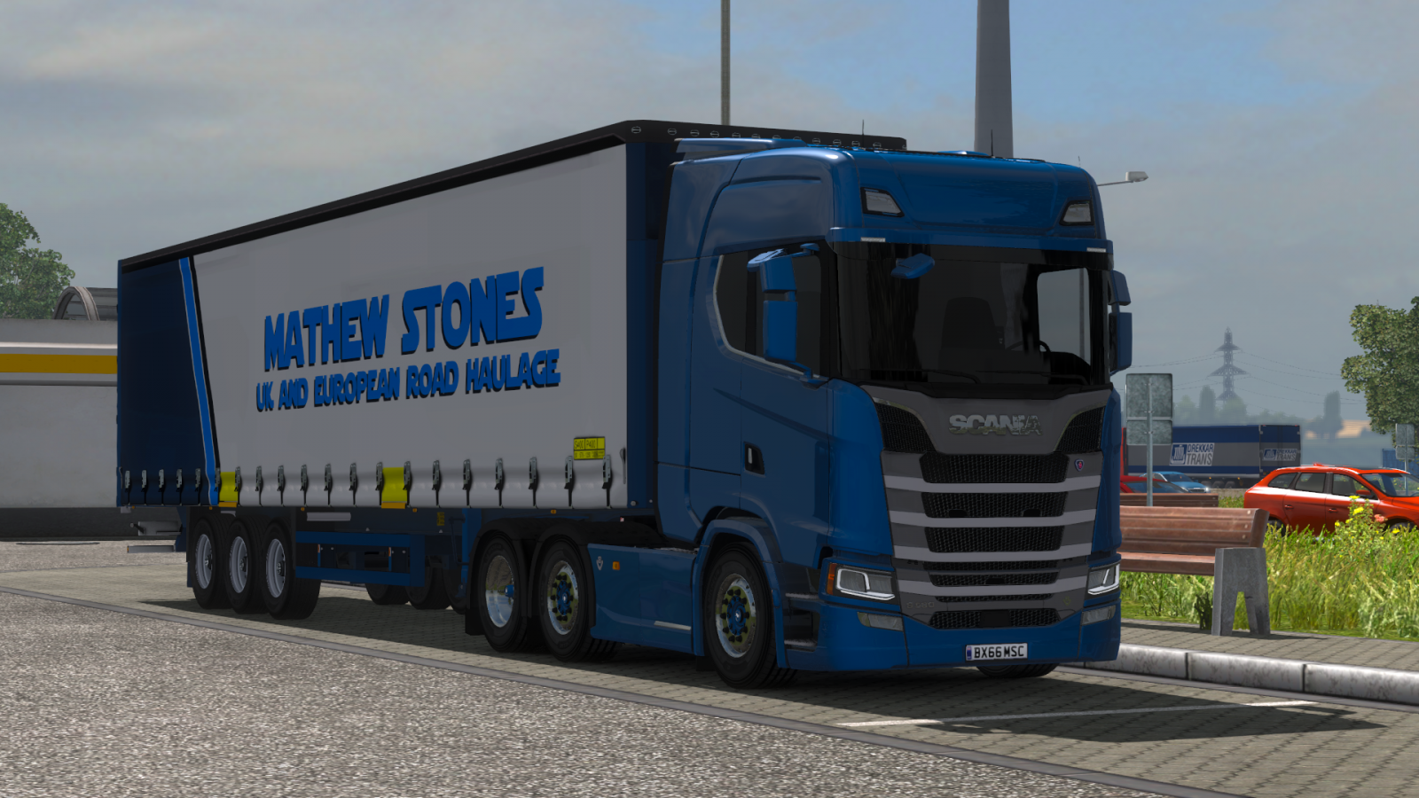 Scania S Serries