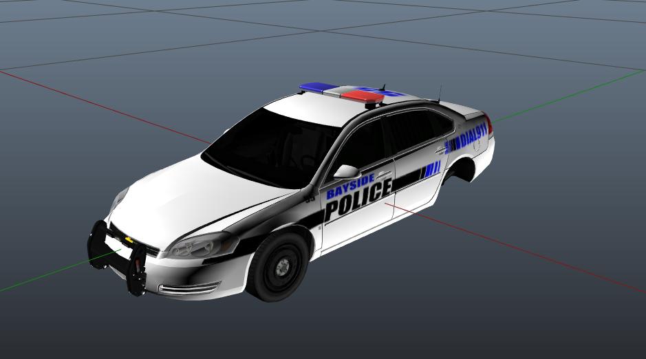 Bayside Police Skin