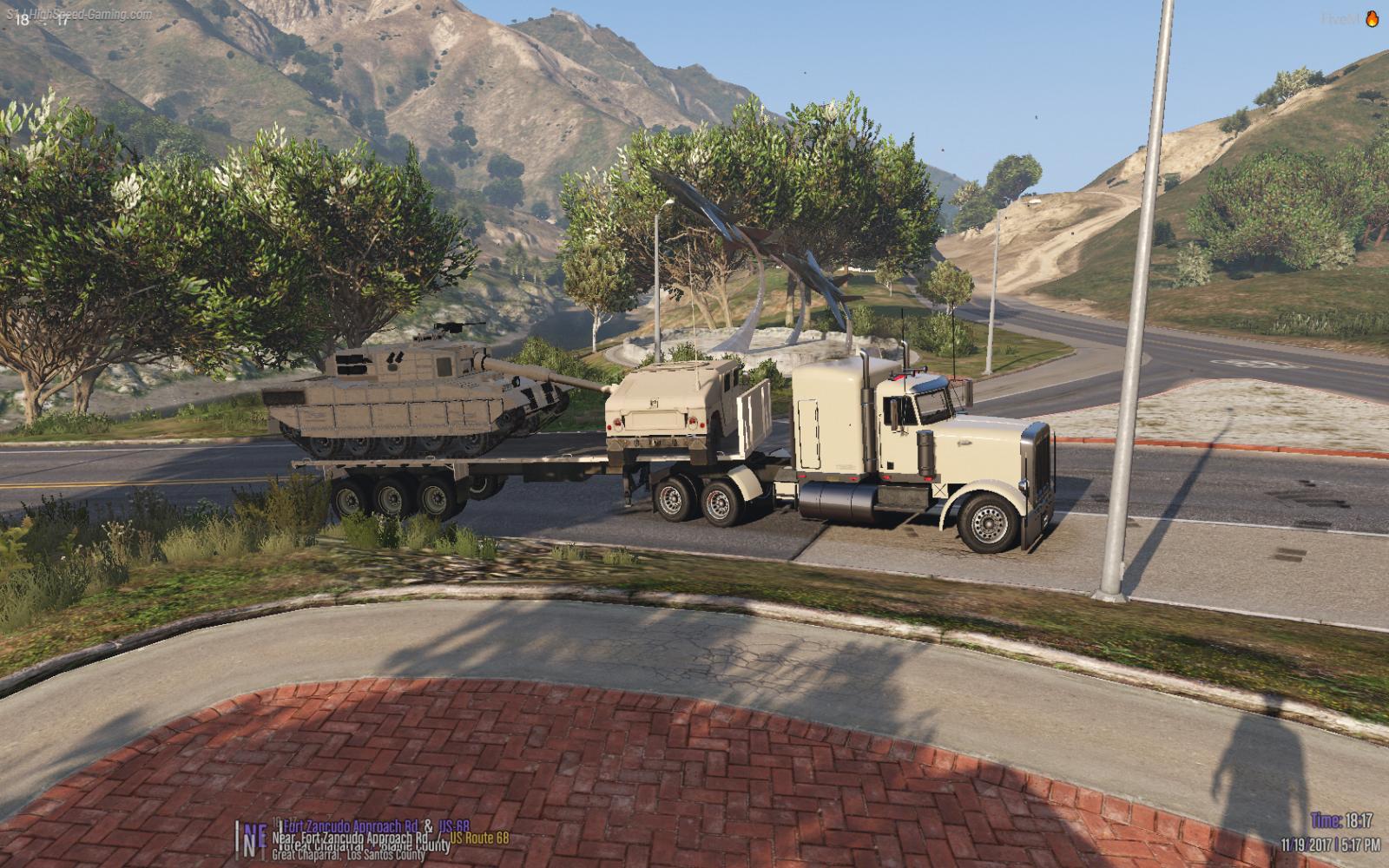 Military trucking!